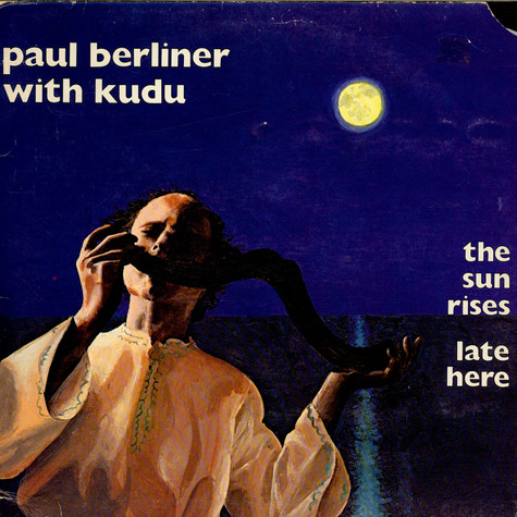 Paul F. Berliner With Kudu - The Sun Rises Late Here