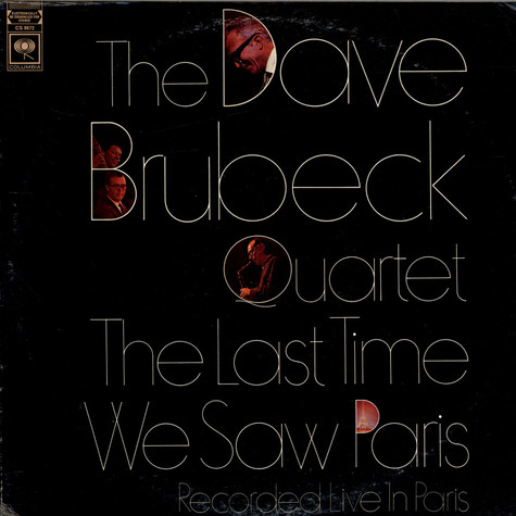 The Dave Brubeck Quartet - The Last Time We Saw Paris