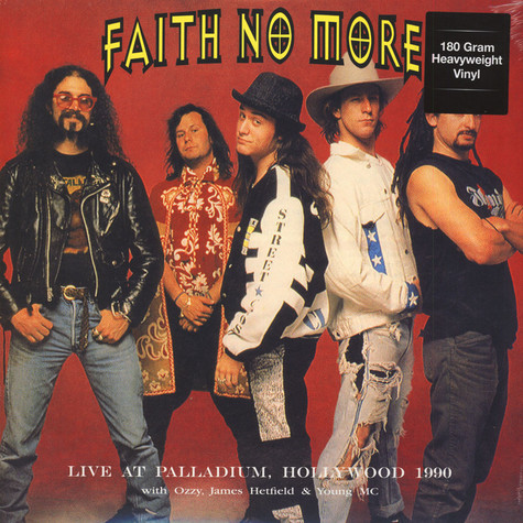 Faith No More - Live At Palladium, Hollywood, September 9, 1990 With Ozzy, James Hetfield & Young Mc KNAC-FM
