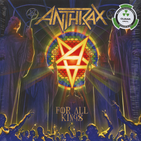 Anthrax - For All Kings Clear Vinyl Edition