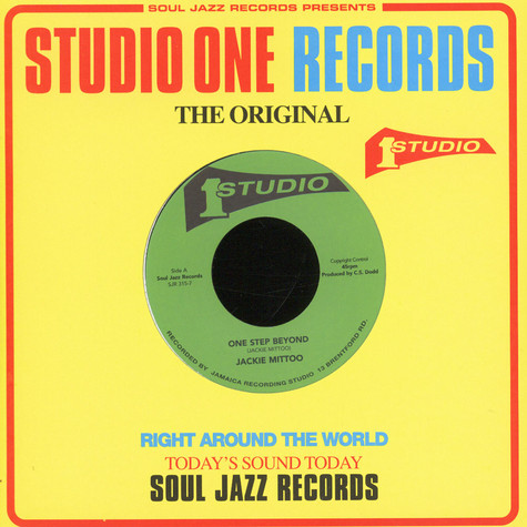 Jackie Mittoo / Horace Andy - One Step Beyond / See A Man's Face