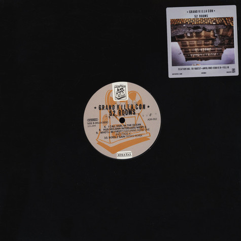 Grand Killa Con (Brycon & Luke Sick) - 52 Rooms Clear & Black Marbled Vinyl Edition