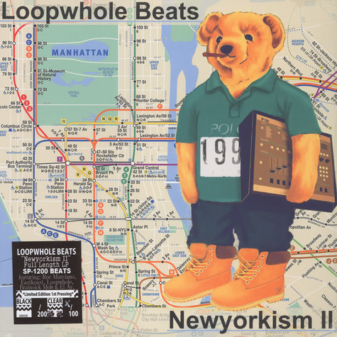 Loopwhole Beats - Newyorkism Part 2 Clear Vinyl Edition