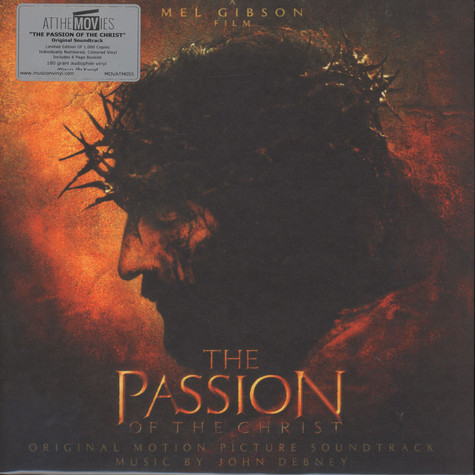 John Debney - Passion Of The Christ Orange Flamed Vinyl Edition