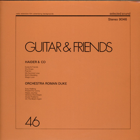 Hans Haider & Co / Orchestra Roman Duke - Guitar & Friends