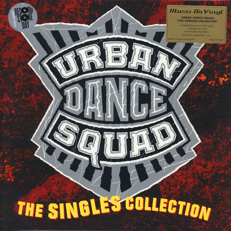 Urban Dance Squad - The Singles Collection Clear Vinyl Edition