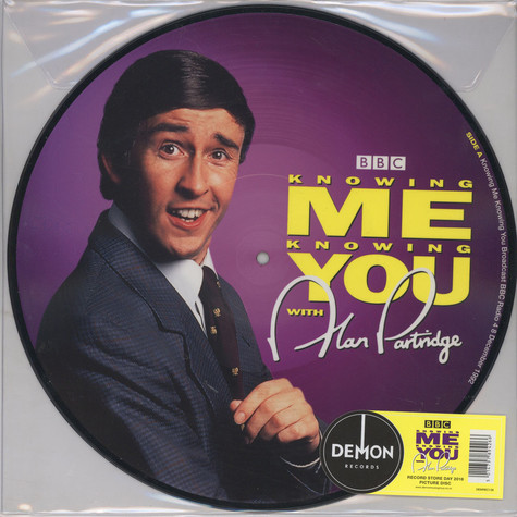 Alan Partridge - Knowing Me Knowing You