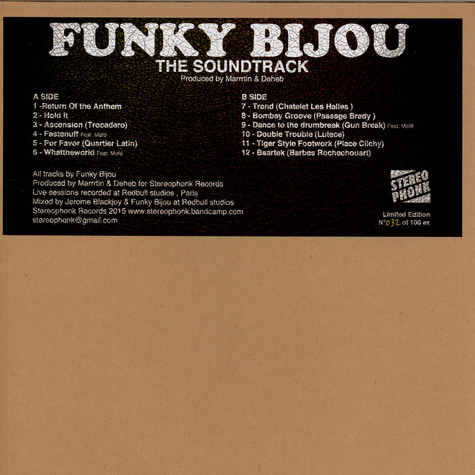 Funky Bijou - The Soundtrack