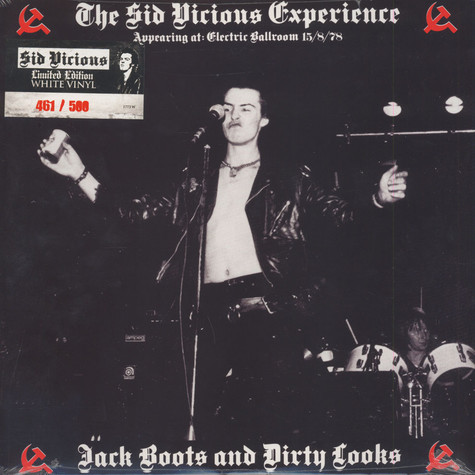 Sid Vicious - Experience - Jack Boots & Dirty Looks White Vinyl Edition