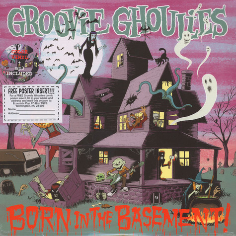 Groovie Ghoulies - Born In The Basement