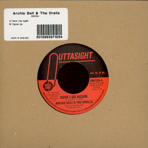 Archie Bell & The Drells - Here I Go Again