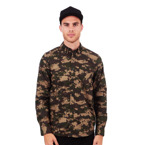 a59e7ea5 Carhartt WIP - Camo Painted Shirt (Camo Painted / Green Rinsed) | HHV