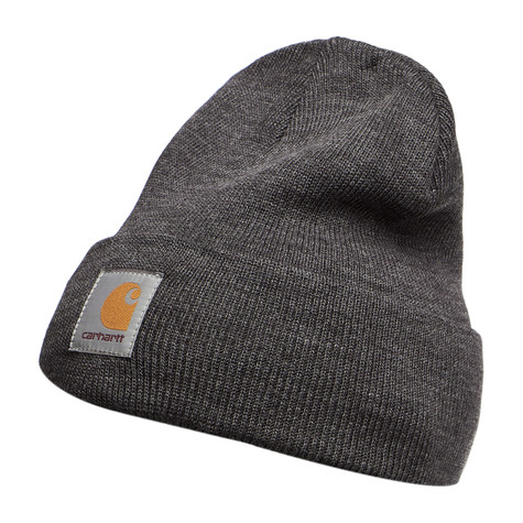 535bf546774 Carhartt WIP - Short Watch Hat (Dark Grey Heather)