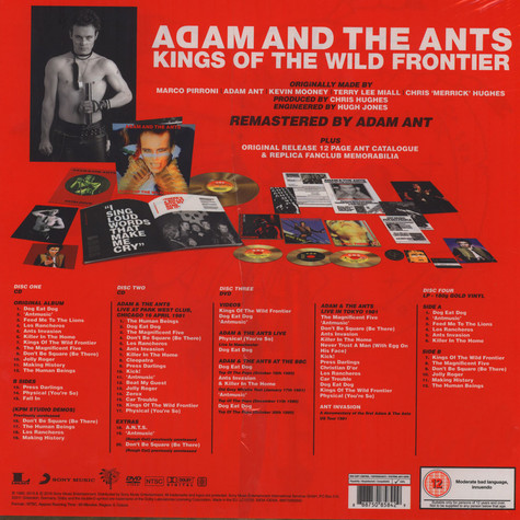 Ant, Adam & The Ants - Kings of the Wild Frontier Super Deluxe Edition