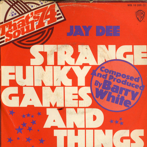 Jay Dee - Strange Funky Games And Things