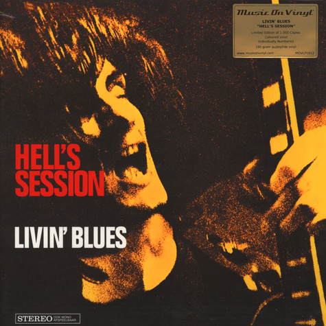 Livin' Blues - Hell's Session White Vinyl Edition