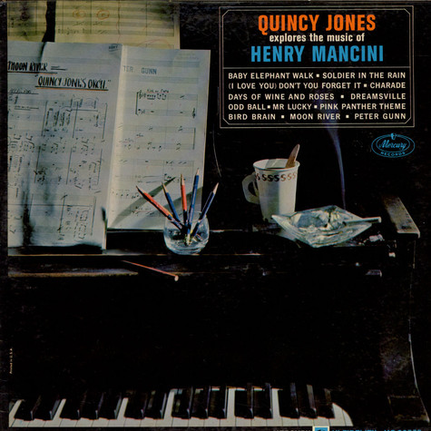 Quincy Jones - Explores The Music Of Henry Mancini