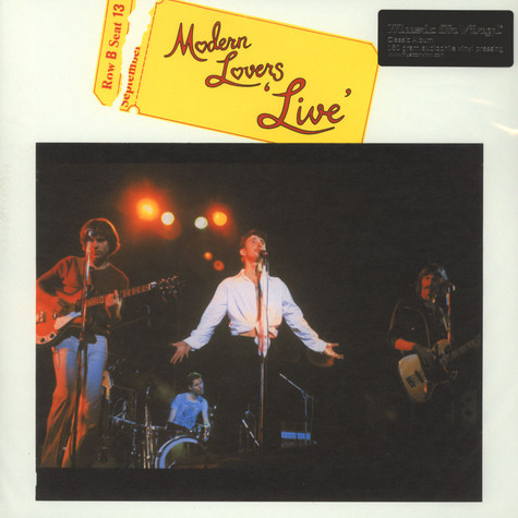 Modern Lovers, The - Live