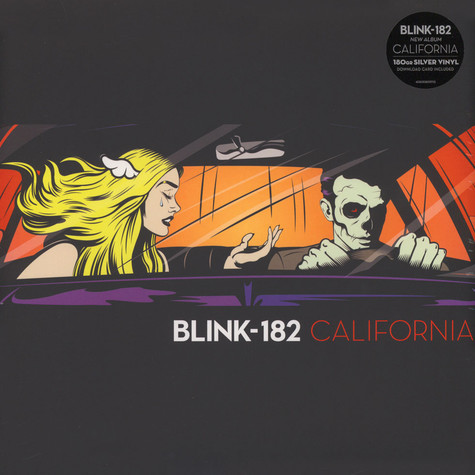 Blink 182 - California Silver Vinyl Edition