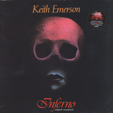 Keith Emerson - OST Inferno Red Vinyl Edition
