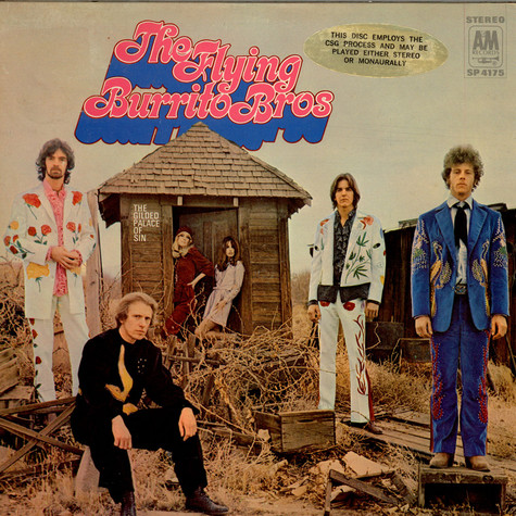 Flying Burrito Bros, The - The Gilded Palace Of Sin