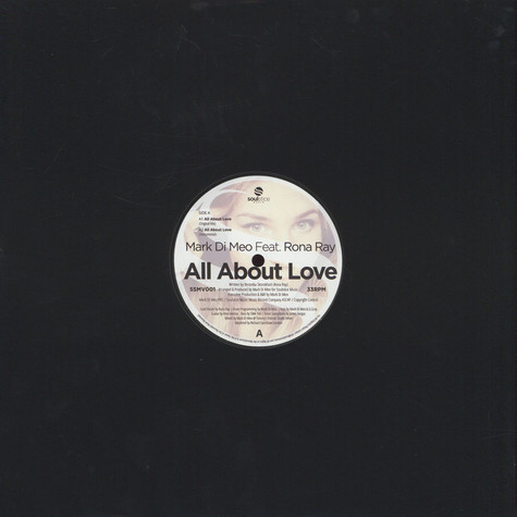 Mark Di Meo - All About Love feat. Rona Ray