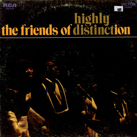 Friends Of Distinction, The - Highly Distinct