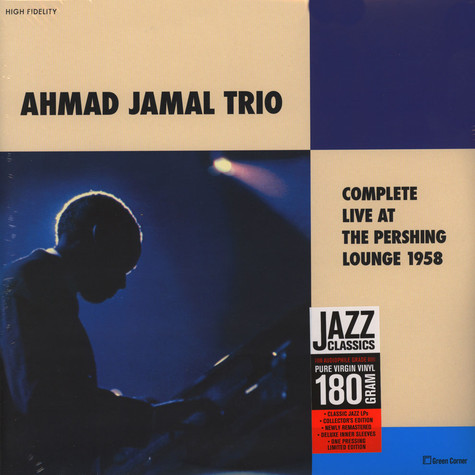 Ahmad Jamal Trio - Complete Live At The Pershing Lounge