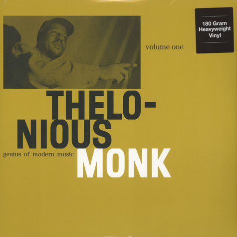 Thelonious Monk - Genius Of Modern Music - Volume 1 180g Vinyl Edition