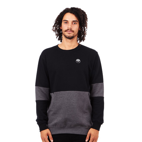Cleptomanicx - Fifty-Fifty Patch Sweater