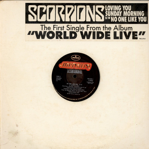 Scorpions - Loving You Sunday Morning / No One Like You