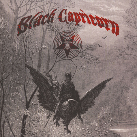 "Black Capricorn / Weed Priest - Split 12"" Mustard Colored Vinyl Edition"