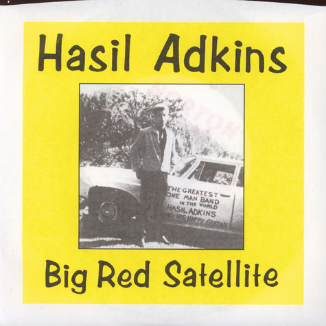 Hasil Adkins - Big Red Satellite / Ellen Marie