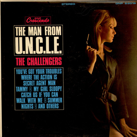 The Challengers - The Man From U.N.C.L.E.
