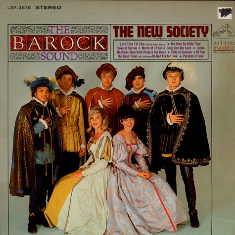 New Society, The - The Barock Sound Of The New Society