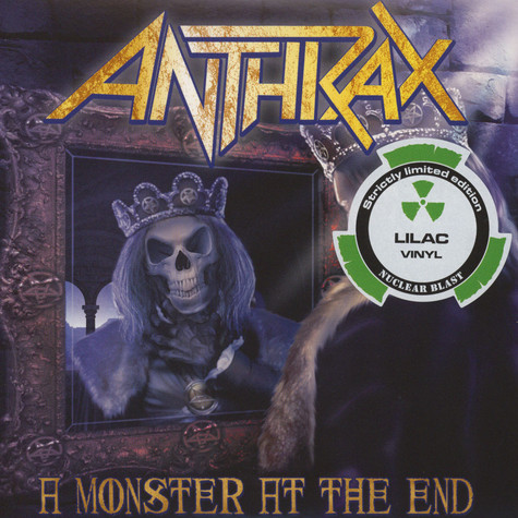 Anthrax - A Monster At The End Lilac Vinyl Edition