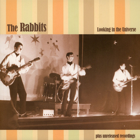Rabbits - Looking In The Universe Black Vinyl Edition
