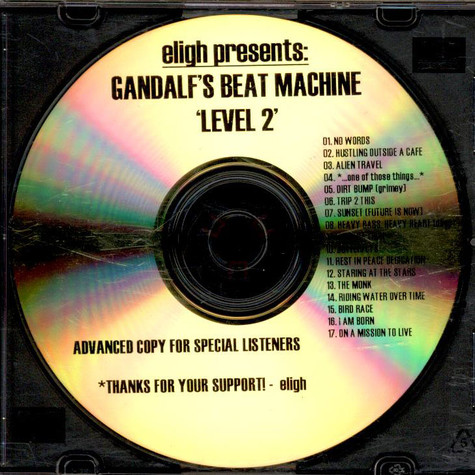 Eligh - Gandalf's Beat Machine 'Level 2'