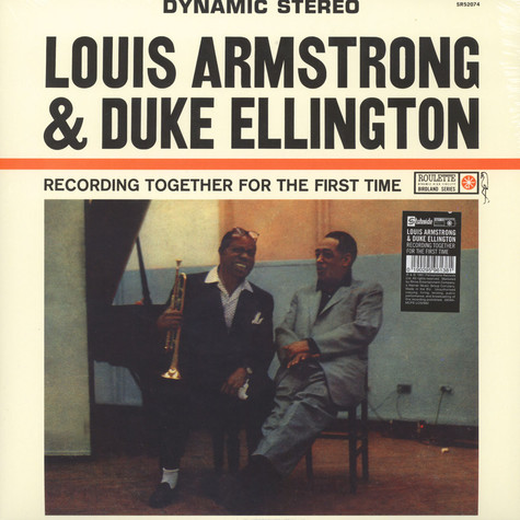 Loius Armstrong & Duke Ellington - Recording Together For The First Time