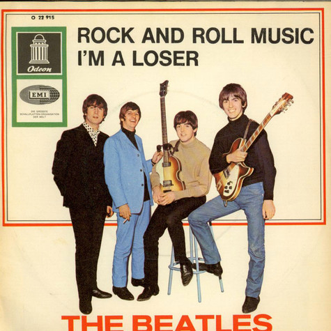 Beatles, The - Rock And Roll Music / I'm A Loser