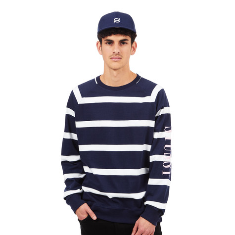 Stüssy - Striped Raglan Crew Sweater