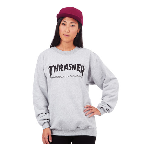 eb590757d4d Thrasher - Women s Skate Mag Crewneck Sweater (Heather Grey)