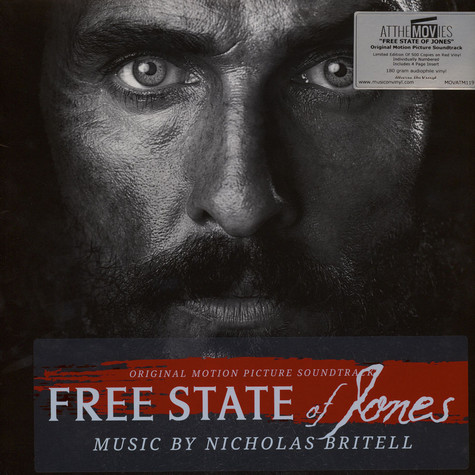 Nicholas Britell - OST Free State Of Jones Red Vinyl Edition