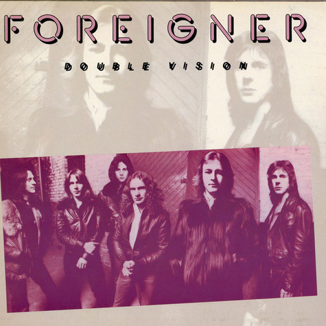 Foreigner Double Vision Vinyl Lp 1978 De