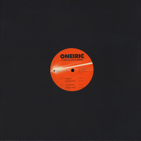 Oneiric - A Tone Colour Of Onirico Black Vinyl Edition