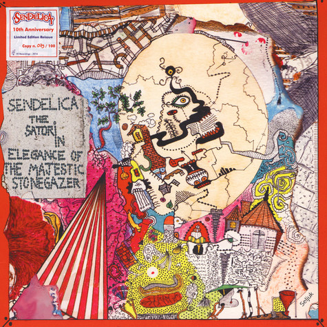 Sendelica - Satori In Elegance Of The Majestic Stonegazer Colored Vinyl Edition