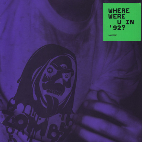 Zomby - Where Were U In '92? Black Vinyl Edition