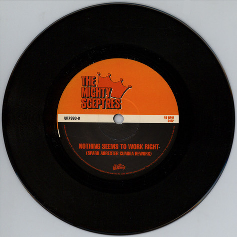Mighty Sceptres, The - Shy As A Butterfly Kenny Dope Extended Mix / Nothing Seems To Work Right