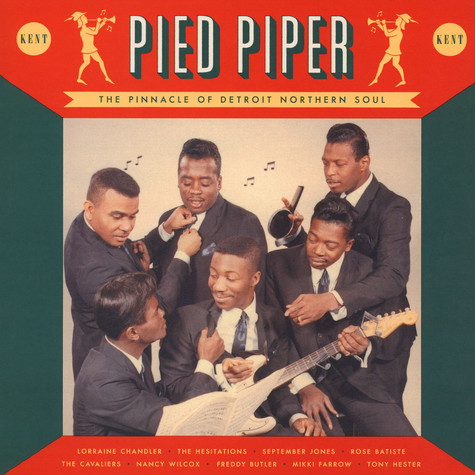 V.A. - Pied Piper - The Pinnacle Of Detroit Northern Soul