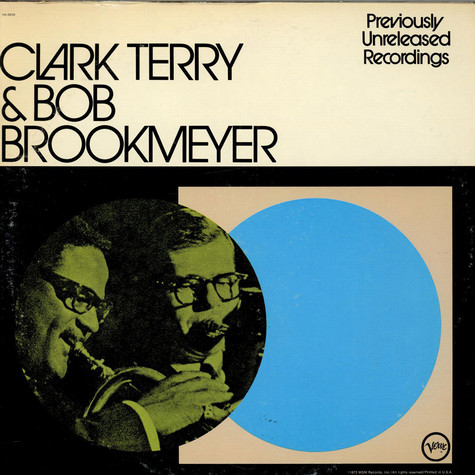 Clark Terry & Bob Brookmeyer - Previously Unreleased Recordings